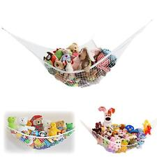 Kids Toy Corner Hammock Net Stuffed Jumbo Animals Organize Storage Organizer