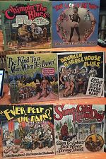 "6 LP LOT R. Crumb Cover ""EVER FELT THE PAIN"" ""EAST RIVER STRING BAND"" $123 VALUE"