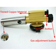 Fashion Ignition Flame Butane Gas Burner Gun Maker Torch Lighter For Picnic