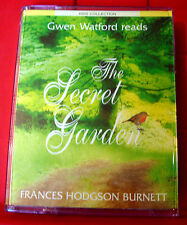 Frances Hodgson Burnett The Secret Garden 2-Tape Audio Book Gwen Watford
