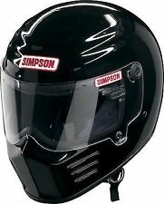 SIMPSON OUTLAW HELMET SNELL M2015 GLOSS BLACK M MEDIUM 58cm 7 1/4