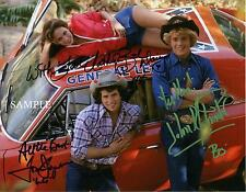 DUKES OF HAZZARD TV CAST AUTOGRAPHED PHOTO PICTURE SIGNED 8X10 CHRISTMAS REPRINT