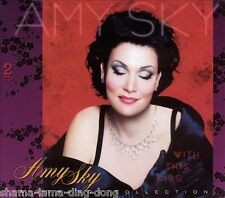 With This Kiss: Collection by Amy Sky (CD, 2003, 2 Discs, Cafe Records) **NEW**