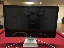 "Apple Thunderbolt Display Model A1407 27"" Widescreen LCD Monitor MINT CONDITION"