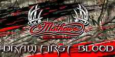 Mathews Archery Full Color Vinyl Banner Bow Shop Display Graphics Sporting Goods