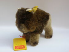 STEIFF original vintage ALL LABELS Bully 1458/12 bisonte Bison