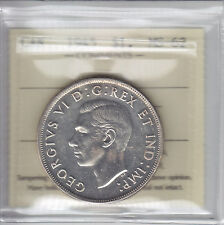1945 Key Date Canadian Silver Dollar - ICCS MS-62