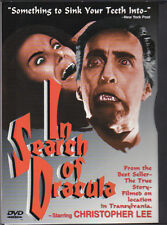 In Search of Dracula (DVD, 1999) Stars Christopher Lee