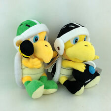 2X Super Mario Bros Hammer Bomb Bob-omb Bro. Koopa Plush Toy Stuffed Animal 8""