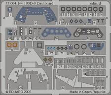 EDUARD 33004 Dashboard for Hasegawa® Kit Fw190D-9 in 1:32