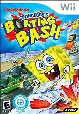 SpongeBob's Boating Bash GAME Nintendo Wii & WII U