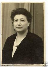 Portrait identité photomaton femme - photo ancienne an. 1940