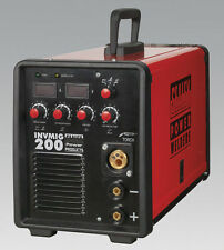 SEALEY INVMIG200 Inverter Welder + EXTRAS