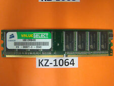 Corsair Value Select - DDR 512 MB - DIMM  - 400 MHz / PC3200 - CL2.5 #KZ-1064