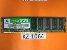 Corsair Value Select - DDR 512 MB - DIMM  - 400 MHz / PC3200 - CL2.5 #KZ-1064