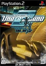 USED Need for Speed Underground 2 (EA Best Hits) Japan Import PS2
