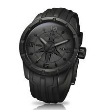 Black Sport Watch Wryst Ultimate ES20 Swiss Made Limited Edition ALL BLACK DLC