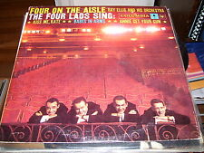 THE FOUR LADS FOUR ON THE AISLE-VINYL-NM-KISS ME KATE-BABES IN ARMS
