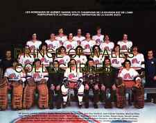 1975 QUEBEC NORDIQUES TEAM PHOTO 8X10