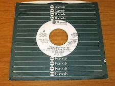"PROMO SOUL 45 RPM - O.V. WRIGHT - ABC 12119 - ""WHAT MORE CAN I DO"""