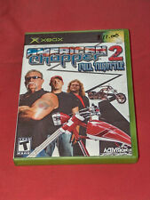 American Chopper 2 Full Throttle Xbox 2005 Race Driving Racing Sport Video Game