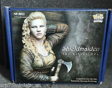 Nutsplanet Shield maiden Viking Woman Worrior 1/10th scale bust kit