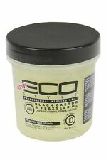 New ECO Styler Professional Styling Black Castor & Flaxseed Oil Max Hold 8 Oz.