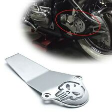 Chrome Skull Aluminum Drive Shaft Cover For Yamaha V-Star 650 1100 Classic