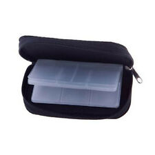 Memory Card Storage Carrying Case Holder Wallet For CF/SD/SDHC/MS/DS 3DS Games