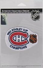 1993 NHL STANLEY CUP CHAMPIONS PATCH EMBLEM MONTREAL CANADIENS JERSEY PATCH