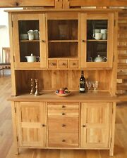 ASHLEY MILTON 100% SOLID OAK DRESSER BEVEL EDGED GLASS NEW AND IN STOCK