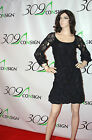 New DIANE VON FURSTENBERG DVF Madis 6 Small $465 Navy Blue Black Eyelet Dress