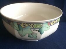 "Villeroy & Boch Pasadena octagonal 7 3/8"" fruit/salad bowl (some scratches )"
