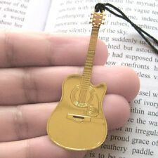 10pcs,lot cutaway guitar bookmark,metal cute bookmark,guitar shaped bo