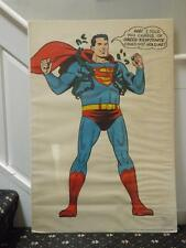 Vintage Superman Poster G & F Posters HA I Told You Chains Of Green Kryptonite