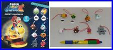 SET 8 Figure SUPER MARIO Galaxy Part 2 ENEMY Danglers FIGURES Gashapon RARE Mint