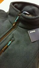 Reebok mens double brushed sherpa fleece jacket size M