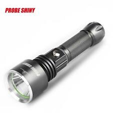 Zoomable CREE XPE LED 2000 Lumens Rechargeable Lamp Clip Flashlight Torch Bright