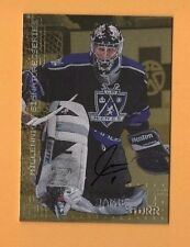 1999-2000 Be A Player Millennium SIGNATURES GOLD #123 Jamie Storr KINGS GOALIE