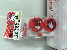 SANRIO Hello Kitty Cute Lens Holder - Red