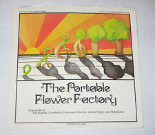 "The Portable Flower Factory 7"" 45 PICTURE SLEEVE ONLY NO DISC Beatles Bob Dylan"