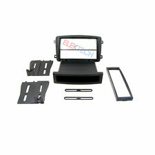 MERCEDES C/G CLASS RADIO STEREO DASH INSTALL MOUNTING KIT DOUBLE DIN POCKET