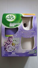 AIR WICK FRESHMATIC AUTOMATIC SPRAY LAVENDER & CHAMOMILE START KIT, NEW SLIM