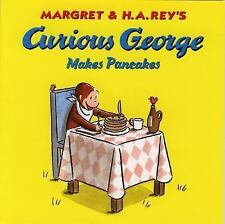 Lot 3 Curious George story picture books H A Rey Monkey kids Makes Pancakes
