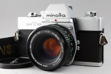 Exc++++ Minolta SRT 101 35mm SLR Film Camera w/MC Rokkor PF 50mm 1.7 From Japan