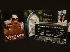 VENOM Cast In Stone PART ONE / 1999 / MC CASSETTE HELLHAMMER, POSSESSED