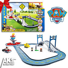 PAW Patrol Lookout Tower Race Track Set Launch & Roll Playset Kids Toy Gift New