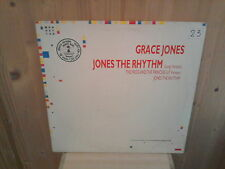 "GRACE JONES jones the rhythm 12"" MAXI 45T"