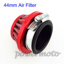 44mm Air Filter Red For 47cc 49cc Cat Eye Pocket Mini Moto ATV Dirt Bike