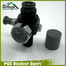 Paintball 4500psi HPA Mini Air Tank Regulator Valve 800psi Output Two Burst Disk
